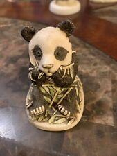 Harmony Kingdom Bamboozled Panda Bear with Bamboo
