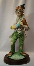 "Madiera Herme Collection 12"" Clown w/ Accordian"