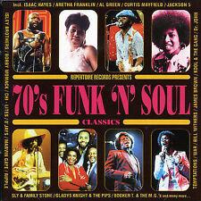 70's Funk & Soul Classics by Various Artists (CD, Sep-1998, 2 Discs, Repertoire)