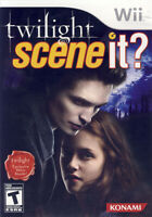 SCENE IT? - TWILIGHT (TRILINGUAL COVER) (NINTENDO WII)