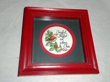 Christmas Home Interiors Homco Pictures - Joyful, Joyful we adore Thee