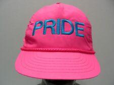 Orgullo - Rosa- Poliéster- Talla Única Snapback Ajustable Gorra Sombrero