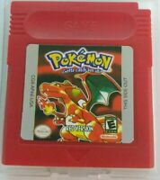 Red Version GBC Pokemon Game Card Cart GameBoy For Nintendo Color Cartridge Gift