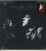 LIVE IN SESSION '68 (LIMITED WHITE VINYL) by LEONARD COHEN Vinyl LP  RVCLP2168