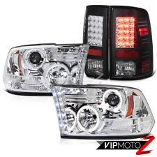 Projektor Scheinwerfer + Schwarz LED Rück Licht Dodge RAM 2009-2014 2015 2016