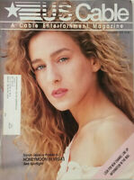 US Cable Magazine Sept 1993 Sarah Jessica Parker WCW Fall Brawl War Games AD VG
