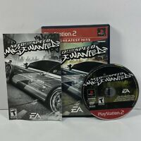 Need for Speed: Most Wanted - Greatest Hits (Sony PlayStation 2) Tested Complete