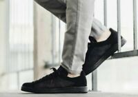 Adidas Originals Stan Smith PK Primeknit Triple Black S80065 Men's 8.5