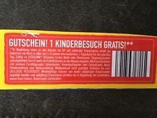 1x freier Kinder-Eintritt  Legoland Discovery Centre Berlin /Oberhausen 30.6.20
