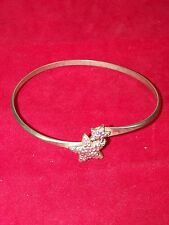 BELLINI BY FORMART SILVER STAR SHAPED STUDDED ARM ART BRACELT FASHION JEWELRY