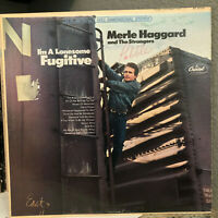 """MERLE HAGGARD - I'm A Lonesome Fugitive (ST-2702) - 12"""" Vinyl Record LP - VG"""