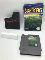 NES Star Tropics Game, Box (good condition) Game and Sleeve