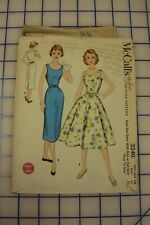 New ListingVintage 1955 's Sewing Pattern Number 3240 Size 14