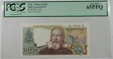 1973 Italy Banca d'Italia 2000 Lire Note SCWPM# 103a PCGS 65 PPQ Gem New