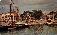 Barbados Antillen Antilles Karibik ~1960/70 Careenage Bridgetown Hafen Buildings