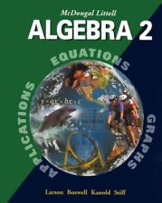 McDougal Littell Algebra 2: Student Edition 2001