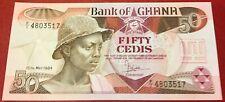 Ghana - 50 Cedis 15.5.1984 P#25 Uncirculated
