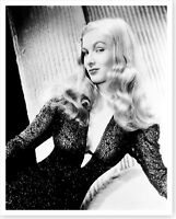 Sexy Movie Star Actress Veronica Lake Silver Halide Photo