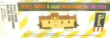 Union Pacific Prototype Cambuse Revell Rapido Micro Trains N-2592