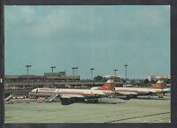 DDR Ak Flughafen Berlin Schönefeld, Flughafen, Interflug
