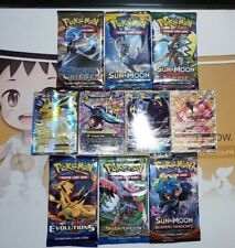 Pokemon Cards bulk lot ULTIMATE bundle 1x Ultra Rare EX/GX 1x Booster Genuine