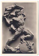 Arno Breker VERGELTUNG / RETALIATION Male Nude * Vintage 30s Photo PC Gay Int