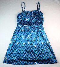 GIANNI BINI Suella Dress Cobalt Blue Strapless Sweetheart Dress Sz 10