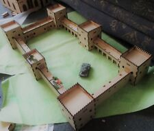 15mm Castle max size 582x329x100mm but completely modular scenery 3mm mdf Laser