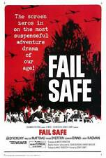 FAIL SAFE Movie POSTER 27x40 Henry Fonda Dan O'Herlihy Walter Matthau Larry