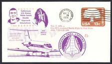 GULFSTREAM STA SPACE SHUTTLE TRAINING AIRCRAFT FLIGHT 11-5-1976 Space Cover