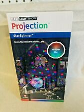 GEMMY LightShow Projection MultiColor Lights STARSPINNER 20 FT Red Green Bl NEW