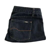 JAG Women's Mid Rise Regular Fit Dark Blue Denim Bootcut Jeans Size 10 EUC
