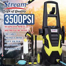 3500PSI 330L/H Electric Pressure Washer Power Portable Patio Car Washing Machine
