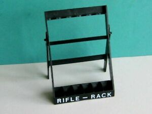 1 x PALITOY / HASBRO 1970's ACTION MAN RIFLE RACK. ACCESSORY ITEM to CLEAR.