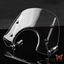 Motorcycle Wind Screen Windshield With Fitting Kit Clear For Vespa Primavera 150
