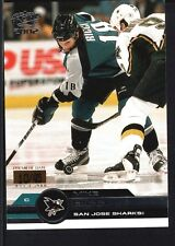 MIKE RICCI 2001/02 PACIFIC #343 PREMIERE DATE SHARKS SP #10/45