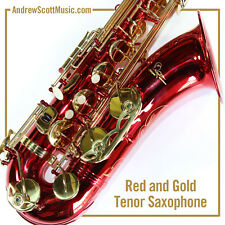 Red Tenor Saxophone - New in Case - Masterpiece