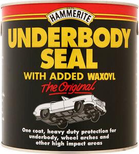 Hammerite Waxoyl 1 LT Underbody Seal Underseal 5092952
