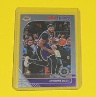 2019-20 Panini NBA Hoops Premium Stock Anthony Davis Los Angeles Lakers #89 🔥