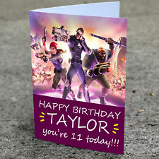 FORTNITE Personalised Birthday Card | Boys Son Grandson Cousin PS4 XBOX One Pc