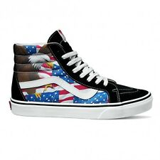 Vans Sk8 Hi Reissue Free Bird Bird Black White Shoes Mens 10.5 AMERICAN USA RARE