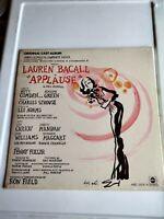 SEALED LP  VINYL ORIG  CAST APPLAUSE LAUREN BACALL ABC OCS11 NEW NOS MUSICAL