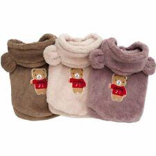 Cute Pet Dog Jumpsuit Hoodie Jacket Warm Fleece Puppy Cat Coat Clothes Costumes