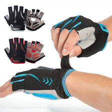 HALF FINGER BIKE GLOVES BICYCLE CYCLING GLOVES SPORTS RIDING BREATHABLE NON SLIP