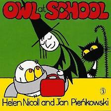 Preschool Story Book - Meg and Mog Story Book - OWL AT SCHOOL - NEW