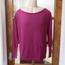 Damsel in a Dress,'Venna' sparkle knit jumper, Berry size 10 Immaculate