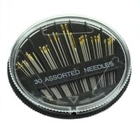 5X(30PCS Assorted Hand Sewing Needles Embroidery Mending Craft Quilt Sew Ca 3N5)