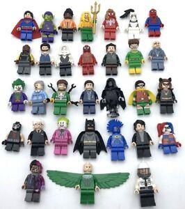 LEGO NEW SUPER HERO MINIFIGURES BATMAN SPIDER THE JOKER YOU PICK WHAT FIGS!