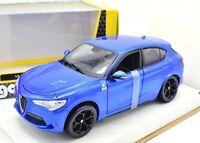 Model Car Alfa Romeo Stelvio Scale 1:24 Burago modellcar Static Miniatures