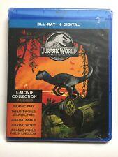 Jurassic Park/Lost World/Jurassic Park Iii/Jurassic World/Fallen Kingdom(Blu-ray